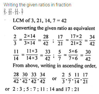 ML Aggarwal Class 10 Solutions for ICSE Maths Chapter 7 Ratio and Proportion Ex 7.1 8