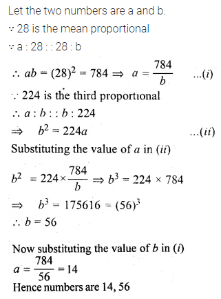 ML Aggarwal Class 10 Solutions for ICSE Maths Chapter 7 Ratio and Proportion Ex 7.2 14