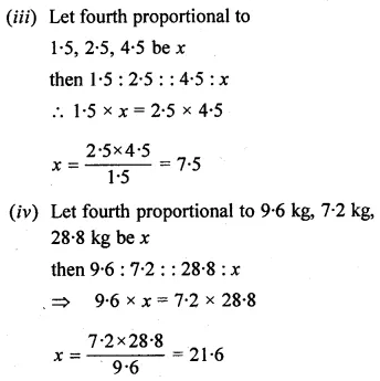 ML Aggarwal Class 10 Solutions for ICSE Maths Chapter 7 Ratio and Proportion Ex 7.2 3
