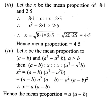 ML Aggarwal Class 10 Solutions for ICSE Maths Chapter 7 Ratio and Proportion Ex 7.2 7