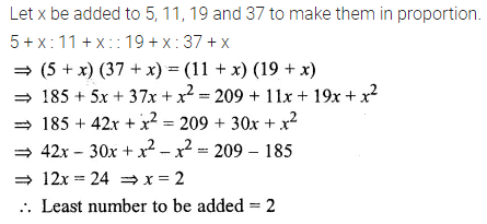 ML Aggarwal Class 10 Solutions for ICSE Maths Chapter 7 Ratio and Proportion Ex 7.2 9