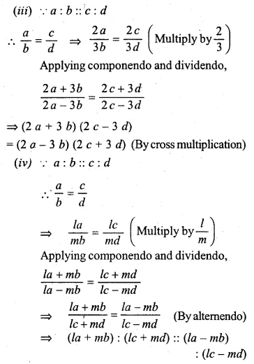 ML Aggarwal Class 10 Solutions for ICSE Maths Chapter 7 Ratio and Proportion Ex 7.3 2