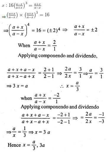 ML Aggarwal Class 10 Solutions for ICSE Maths Chapter 7 Ratio and Proportion Ex 7.3 22