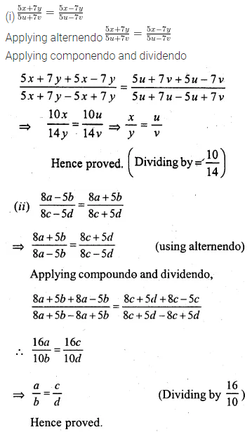 ML Aggarwal Class 10 Solutions for ICSE Maths Chapter 7 Ratio and Proportion Ex 7.3 3