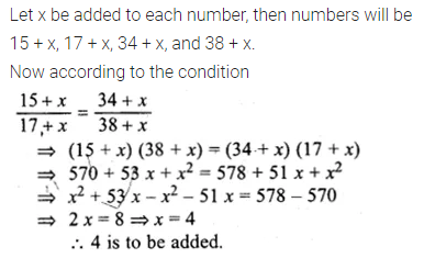 ML Aggarwal Class 10 Solutions for ICSE Maths Chapter 7 Ratio and Proportion MCQS 16