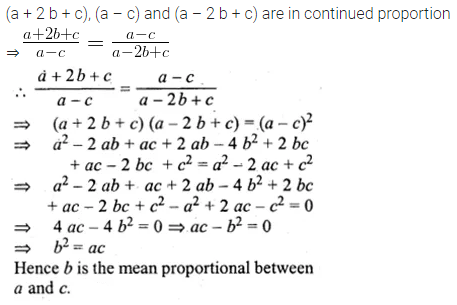 ML Aggarwal Class 10 Solutions for ICSE Maths Chapter 7 Ratio and Proportion MCQS 17