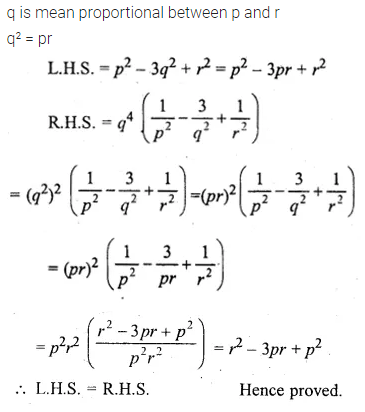ML Aggarwal Class 10 Solutions for ICSE Maths Chapter 7 Ratio and Proportion MCQS 21