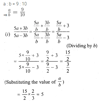 ML Aggarwal Class 10 Solutions for ICSE Maths Chapter 7 Ratio and Proportion MCQS 27