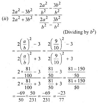 ML Aggarwal Class 10 Solutions for ICSE Maths Chapter 7 Ratio and Proportion MCQS 28