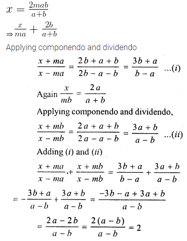 ML Aggarwal Class 10 Solutions for ICSE Maths Chapter 7 Ratio and Proportion MCQS 31