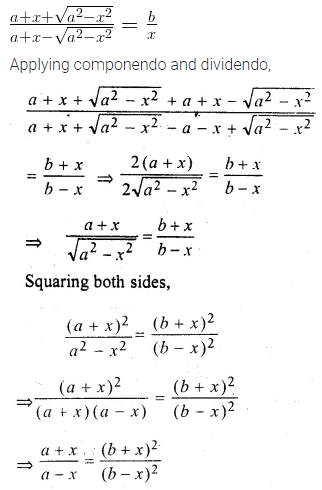ML Aggarwal Class 10 Solutions for ICSE Maths Chapter 7 Ratio and Proportion MCQS 34