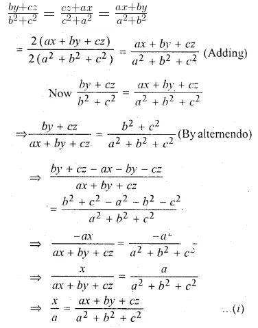 ML Aggarwal Class 10 Solutions for ICSE Maths Chapter 7 Ratio and Proportion MCQS 37