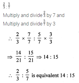 ML Aggarwal Class 10 Solutions for ICSE Maths Chapter 7 Ratio and Proportion MCQS 5