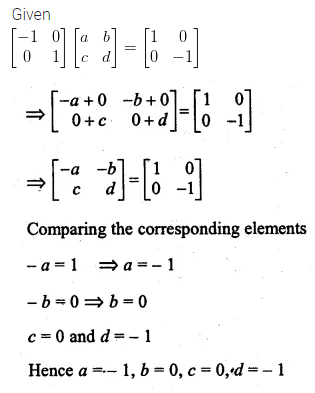 ML Aggarwal Class 10 Solutions for ICSE Maths Chapter 8 Matrices Chapter Test 15