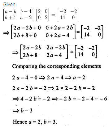 ML Aggarwal Class 10 Solutions for ICSE Maths Chapter 8 Matrices Chapter Test 16