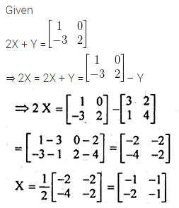 ML Aggarwal Class 10 Solutions for ICSE Maths Chapter 8 Matrices Chapter Test 3