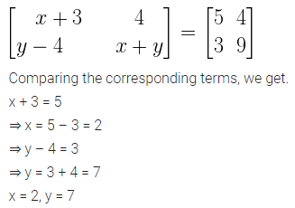 ML Aggarwal Class 10 Solutions for ICSE Maths Chapter 8 Matrices Ex 8.1 6