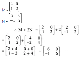 ML Aggarwal Class 10 Solutions for ICSE Maths Chapter 8 Matrices Ex 8.2 1