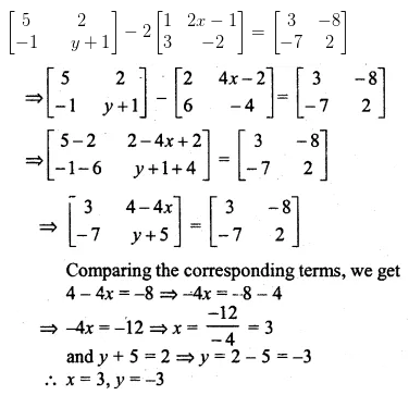 ML Aggarwal Class 10 Solutions for ICSE Maths Chapter 8 Matrices Ex 8.2 13