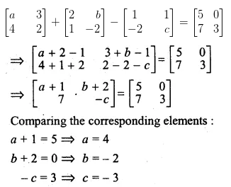 ML Aggarwal Class 10 Solutions for ICSE Maths Chapter 8 Matrices Ex 8.2 14
