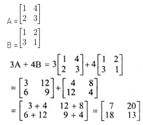 ML Aggarwal Class 10 Solutions for ICSE Maths Chapter 8 Matrices Ex 8.2 3