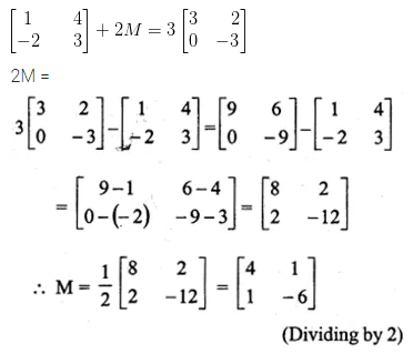 ML Aggarwal Class 10 Solutions for ICSE Maths Chapter 8 Matrices Ex 8.2 8