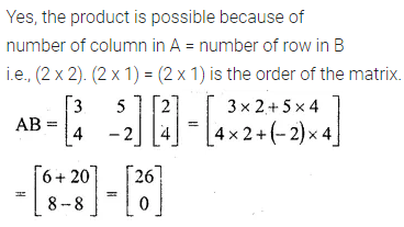 ML Aggarwal Class 10 Solutions for ICSE Maths Chapter 8 Matrices Ex 8.3 1