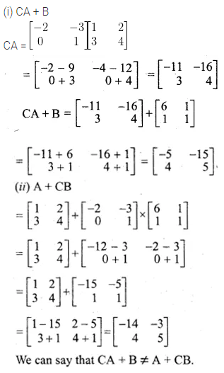 ML Aggarwal Class 10 Solutions for ICSE Maths Chapter 8 Matrices Ex 8.3 10