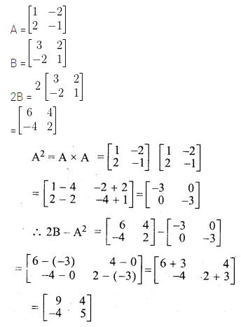 ML Aggarwal Class 10 Solutions for ICSE Maths Chapter 8 Matrices Ex 8.3 11