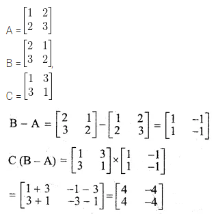 ML Aggarwal Class 10 Solutions for ICSE Maths Chapter 8 Matrices Ex 8.3 13