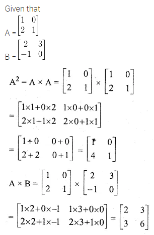 ML Aggarwal Class 10 Solutions for ICSE Maths Chapter 8 Matrices Ex 8.3 14