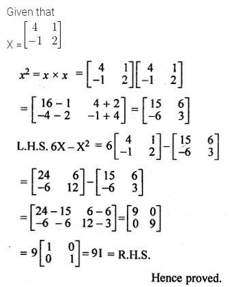 ML Aggarwal Class 10 Solutions for ICSE Maths Chapter 8 Matrices Ex 8.3 18