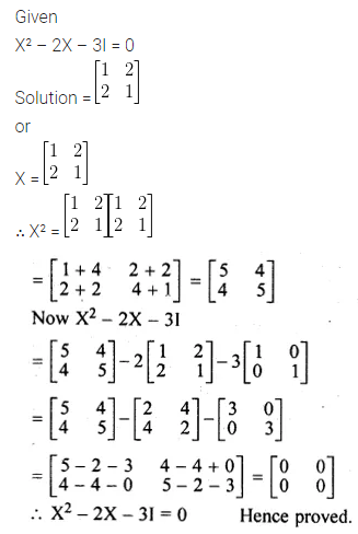 ML Aggarwal Class 10 Solutions for ICSE Maths Chapter 8 Matrices Ex 8.3 19