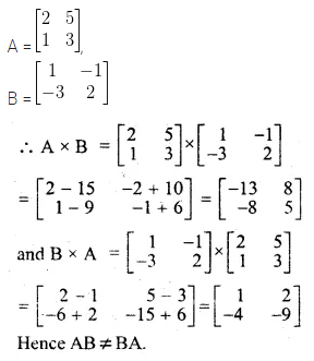 ML Aggarwal Class 10 Solutions for ICSE Maths Chapter 8 Matrices Ex 8.3 2