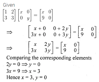 ML Aggarwal Class 10 Solutions for ICSE Maths Chapter 8 Matrices Ex 8.3 26