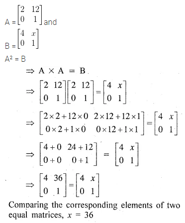 ML Aggarwal Class 10 Solutions for ICSE Maths Chapter 8 Matrices Ex 8.3 28