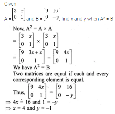 ML Aggarwal Class 10 Solutions for ICSE Maths Chapter 8 Matrices Ex 8.3 30