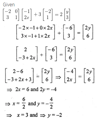ML Aggarwal Class 10 Solutions for ICSE Maths Chapter 8 Matrices Ex 8.3 31