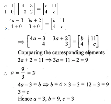 ML Aggarwal Class 10 Solutions for ICSE Maths Chapter 8 Matrices Ex 8.3 32