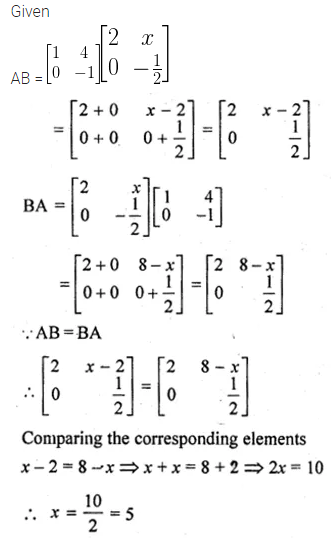 ML Aggarwal Class 10 Solutions for ICSE Maths Chapter 8 Matrices Ex 8.3 33