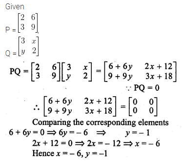 ML Aggarwal Class 10 Solutions for ICSE Maths Chapter 8 Matrices Ex 8.3 35
