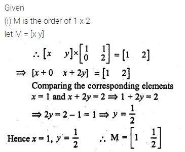 ML Aggarwal Class 10 Solutions for ICSE Maths Chapter 8 Matrices Ex 8.3 36