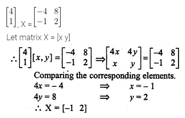 ML Aggarwal Class 10 Solutions for ICSE Maths Chapter 8 Matrices Ex 8.3 38