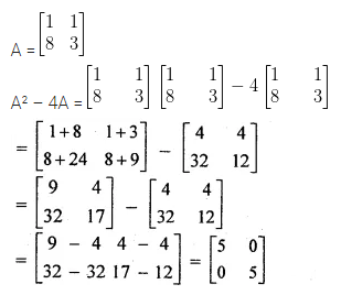 ML Aggarwal Class 10 Solutions for ICSE Maths Chapter 8 Matrices Ex 8.3 4