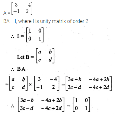 ML Aggarwal Class 10 Solutions for ICSE Maths Chapter 8 Matrices Ex 8.3 41