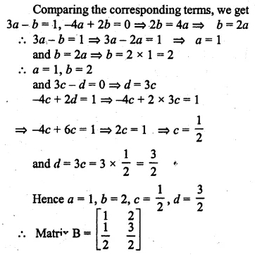 ML Aggarwal Class 10 Solutions for ICSE Maths Chapter 8 Matrices Ex 8.3 42