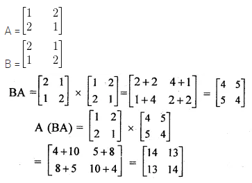ML Aggarwal Class 10 Solutions for ICSE Maths Chapter 8 Matrices Ex 8.3 6