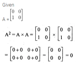 ML Aggarwal Class 10 Solutions for ICSE Maths Chapter 8 Matrices MCQS 11