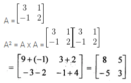 ML Aggarwal Class 10 Solutions for ICSE Maths Chapter 8 Matrices MCQS 13
