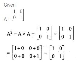 ML Aggarwal Class 10 Solutions for ICSE Maths Chapter 8 Matrices MCQS 9